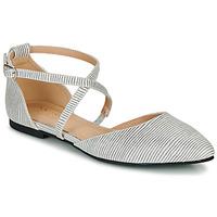 Schuhe Damen Ballerinas André MARTHA Blau
