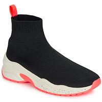 Schuhe Damen Sneaker High André HARUNA Schwarz