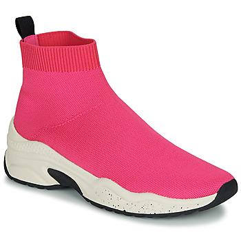 Schuhe Damen Sneaker High André HARUNA Rose