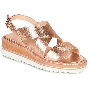 Schuhe Damen Sandalen / Sandaletten André EULALIE Gold