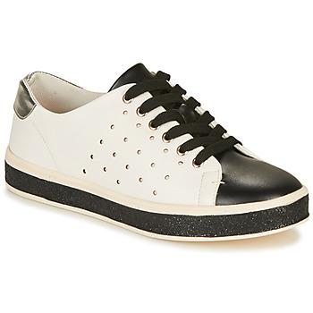 Schuhe Damen Sneaker Low André PENNY Weiss