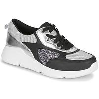 Schuhe Damen Sneaker Low André PORTIA Schwarz