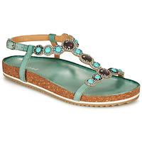 Schuhe Damen Sandalen / Sandaletten André ETHEL Blau