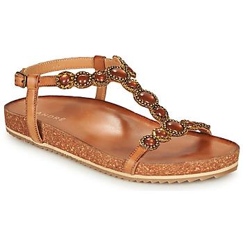 Schuhe Damen Sandalen / Sandaletten André ETHEL Camel