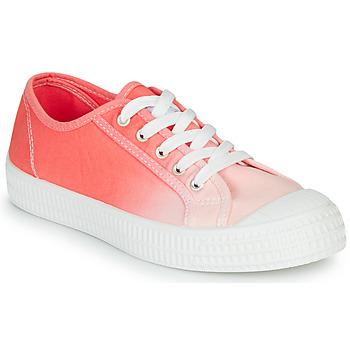 Schuhe Damen Sneaker Low André HARPER Korallenrot