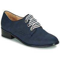Schuhe Damen Derby-Schuhe André MONTSERRAT Blau