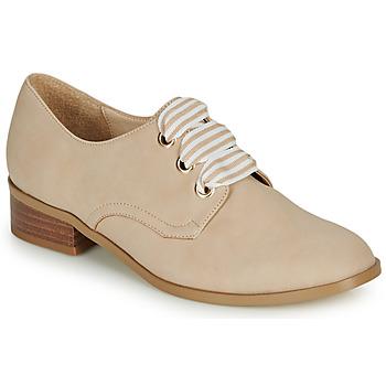 Schuhe Damen Derby-Schuhe André MONTSERRAT Beige