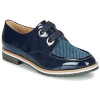 Schuhe Damen Derby-Schuhe André MADDO Blau