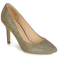 Schuhe Damen Pumps André JENIF Gold