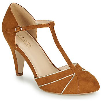 Schuhe Damen Pumps André JULIETTE Camel