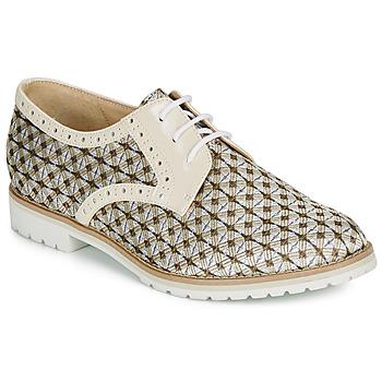 Schuhe Damen Derby-Schuhe André DERIVEUR Beige