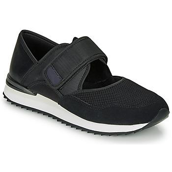 Schuhe Damen Sneaker Low André HISAYA Schwarz