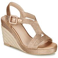 Schuhe Damen Sandalen / Sandaletten André PHOEBE Gold