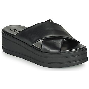 Schuhe Damen Sandalen / Sandaletten André ELVIANA Schwarz