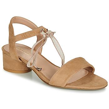 Schuhe Damen Sandalen / Sandaletten André PAULENE Beige