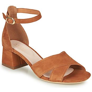 Schuhe Damen Sandalen / Sandaletten André JAYLA Camel