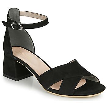 Schuhe Damen Sandalen / Sandaletten André JAYLA Schwarz