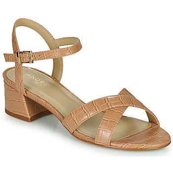 Schuhe Damen Sandalen / Sandaletten André VICTORIA Beige
