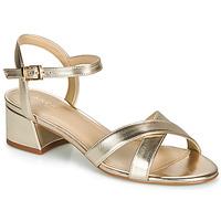 Schuhe Damen Sandalen / Sandaletten André VICTORIA Gold