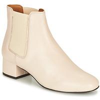 Schuhe Damen Boots André ECLAIRCIE Weiss