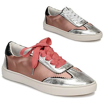 Schuhe Damen Sneaker Low André LA VOLTIGEUSE Rose