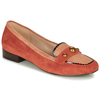 Schuhe Damen Slipper André L ACROBATE Rose