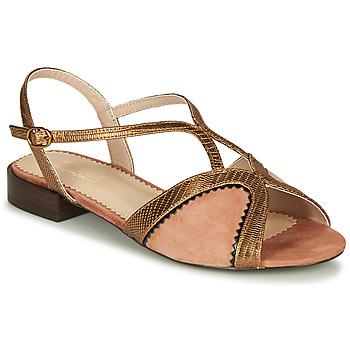 Schuhe Damen Sandalen / Sandaletten André LA TRAPEZISTE Rose