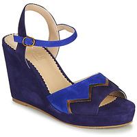Schuhe Damen Sandalen / Sandaletten André LA JONGLEUSE Blau