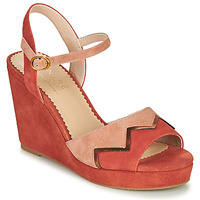 Schuhe Damen Sandalen / Sandaletten André LA JONGLEUSE Rose