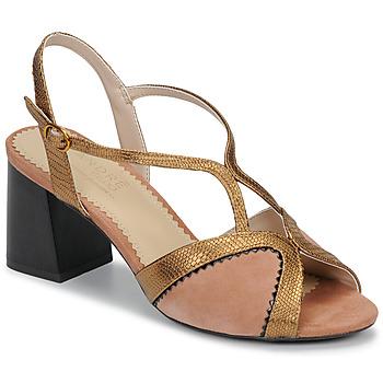 Schuhe Damen Sandalen / Sandaletten André LA MAGICIENNE Rose