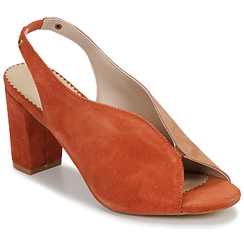 Schuhe Damen Sandalen / Sandaletten André L ILLUSIONISTE Rose
