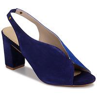 Schuhe Damen Sandalen / Sandaletten André L ILLUSIONISTE Blau