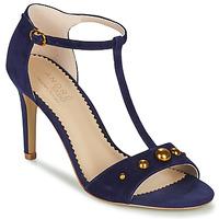 Schuhe Damen Sandalen / Sandaletten André LA DOMPTEUSE Blau