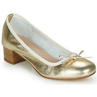 Schuhe Damen Ballerinas André POEME Gold