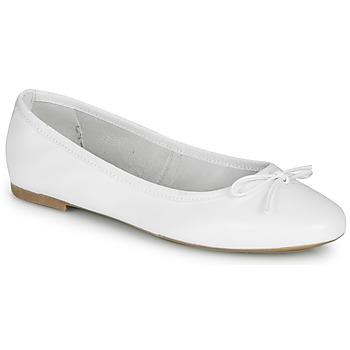 Schuhe Damen Ballerinas André PIETRA Weiss