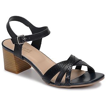 Schuhe Damen Sandalen / Sandaletten André MARJOLAINE Marine