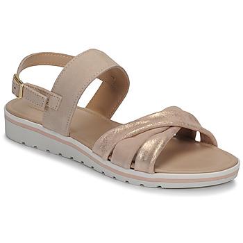 Schuhe Damen Sandalen / Sandaletten André POLINE Beige