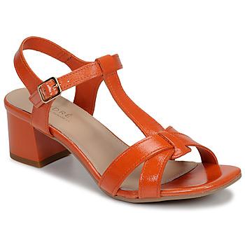 Schuhe Damen Sandalen / Sandaletten André JOSEPHINE Orange