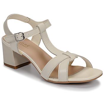 Schuhe Damen Sandalen / Sandaletten André JOSEPHINE Weiss