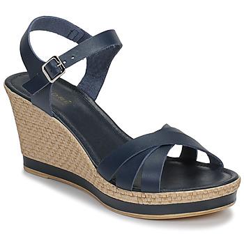 Schuhe Damen Sandalen / Sandaletten André MYRIAM Blau