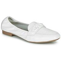 Schuhe Damen Slipper André MAYRA Weiss