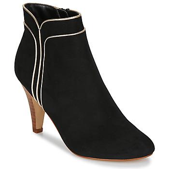 Schuhe Damen Low Boots André JUNO Schwarz