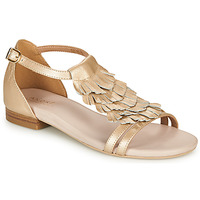 Schuhe Damen Sandalen / Sandaletten André BRIANA Gold