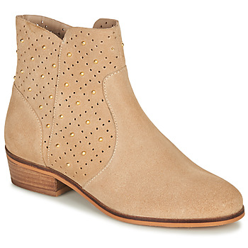 Schuhe Damen Boots André BERTINA Beige