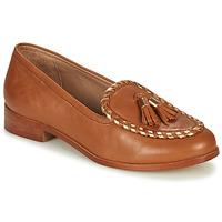 Schuhe Damen Slipper André BRETTA Camel
