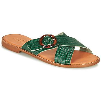 Schuhe Damen Sandalen / Sandaletten André BRAIDY Grün