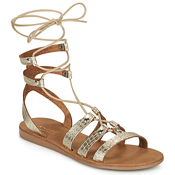 Schuhe Damen Sandalen / Sandaletten André BEA Gold