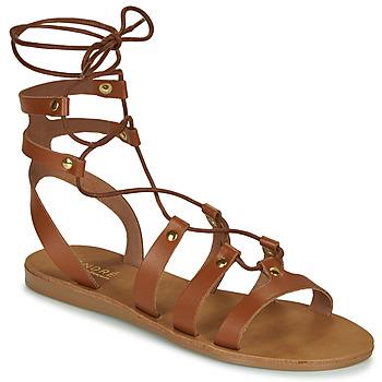 Schuhe Damen Sandalen / Sandaletten André BEA Camel