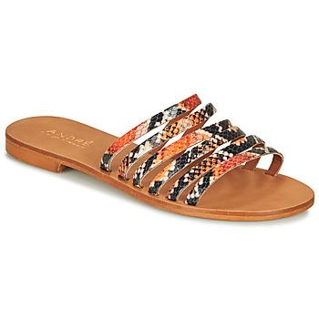 Schuhe Damen Sandalen / Sandaletten André BRAIDINE Orange