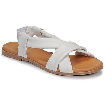 Schuhe Damen Sandalen / Sandaletten André BABACO Weiss